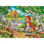 Puzzle  Castorland-070015 Le Petit Chaperon Rouge