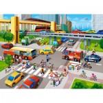 Puzzle  Castorland-070039 City Rush