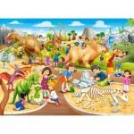 Puzzle  Castorland-070046 Parc aux Dinosaures