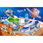 Castorland-08521-KO1 Mini Puzzle - Espace