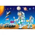 Castorland-08521-KO2 Mini Puzzle - Espace