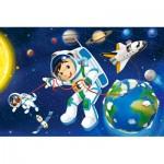 Castorland-08521-KO4 Mini Puzzle - Espace
