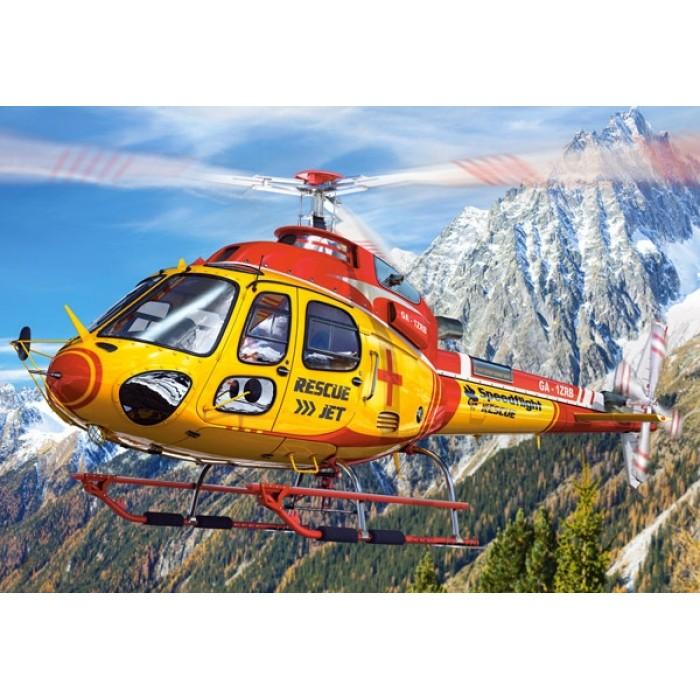 Mini Puzzle - Hélicoptère