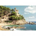 Puzzle  Castorland-100774 Côtes d'Espagne : Lloret de Mar