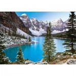 Puzzle  Castorland-102372 Canada : Mountain Lake