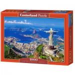 Puzzle  Castorland-102846 Brésil, Rio de Janeiro