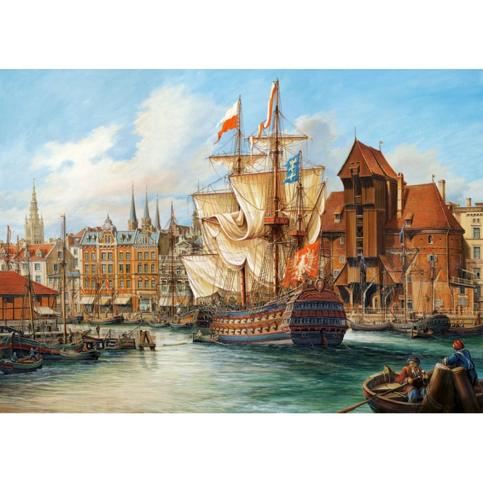 Pologne : Vieux Gdansk