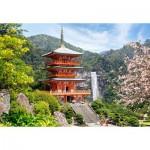 Puzzle  Castorland-103201 Seiganto-Ji Temple, Japan