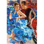 Puzzle  Castorland-103287 Dance in the Turquoise Tones