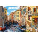 Puzzle  Castorland-103683 Reflets de Venise