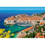 Puzzle  Castorland-103720 Dubrovnik, Croatie