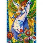 Puzzle  Castorland-103829 David Galchutt : Angelic Harvesting