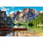 Puzzle  Castorland-103980 Les Dolomites, Italie