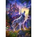 Puzzle  Castorland-104178 Wolf Castle