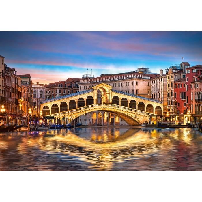 Rialto by Night, Venise