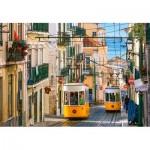 Puzzle  Castorland-104260 Tramway de Lisbonne, Portugal
