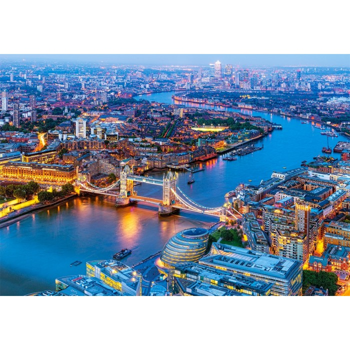 Vue Aérienne de Londres
