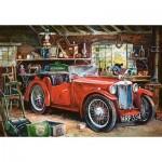 Puzzle  Castorland-104574 Garage Vintage
