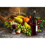 Puzzle  Castorland-104604 Des Fruits et du Vin