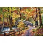 Puzzle  Castorland-104628 Brathay Bridge