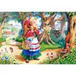 Puzzle  Castorland-12770 Le Petit Chaperon Rouge