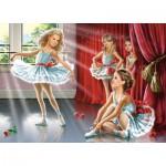Puzzle  Castorland-13036 Petites Ballerines