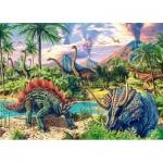 Puzzle  Castorland-13234 Dinosaures