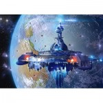 Puzzle  Castorland-13272 Alien Spaceship
