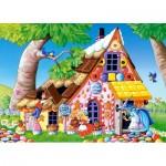 Puzzle  Castorland-13333 Hansel et Gretel