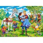 Puzzle  Castorland-13463 Blanche Neige
