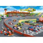 Puzzle  Castorland-13470 Formule Racing