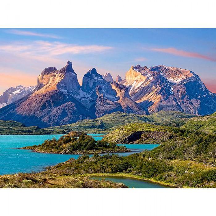 Parc national Torres del Paine en Patagonie, Chili