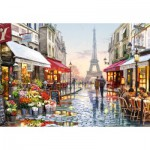 Puzzle  Castorland-151288 Fleuriste