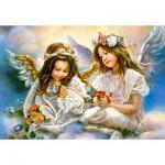 Puzzle  Castorland-151394 Le Cadeau d'un Ange