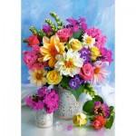 Puzzle  Castorland-151516 Flower Bouquet