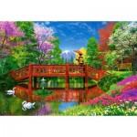 Puzzle  Castorland-151608 Dominic Davison : Fuji Lake