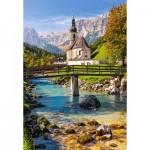 Puzzle  Castorland-151615 Ramsau, Allemagne