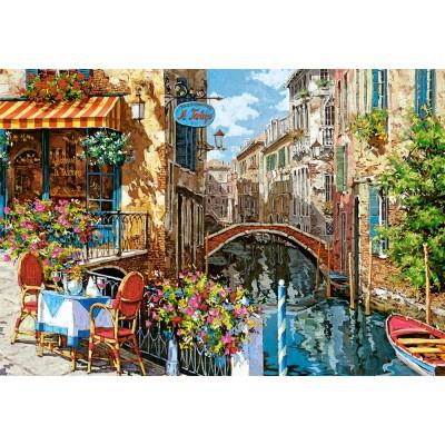 Puzzle Castorland-151738 Ristorante Tartufo