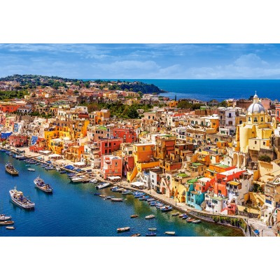 Puzzle Castorland-151769 Marina Corricella, Italie