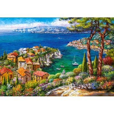 Puzzle Castorland-151776 Côte d'Azur