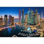 Puzzle  Castorland-151813 Skyscrapers of Dubaï
