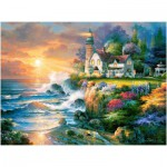 Puzzle  Castorland-200528 Twilight Beacon