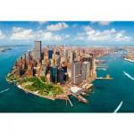 Puzzle  Castorland-200573 New York City avant le 11 Septembre