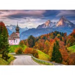 Puzzle  Castorland-200795 Rian Alps - Germany