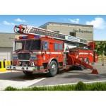 Puzzle  Castorland-27040 Camion de Pompier
