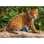 Puzzle  Castorland-27392 Petit Jaguar