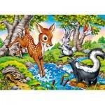 Puzzle  Castorland-27446 Les Animaux de la Forêt