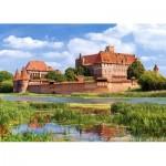 Puzzle  Castorland-300211 Château de Malbork, Pologne