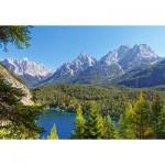 Puzzle  Castorland-300242 Autriche : Lac dans les Alpes