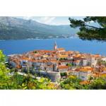 Puzzle  Castorland-300266 Croatie : Korcula